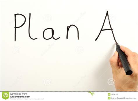 plan a plan a stock photos image 16750103