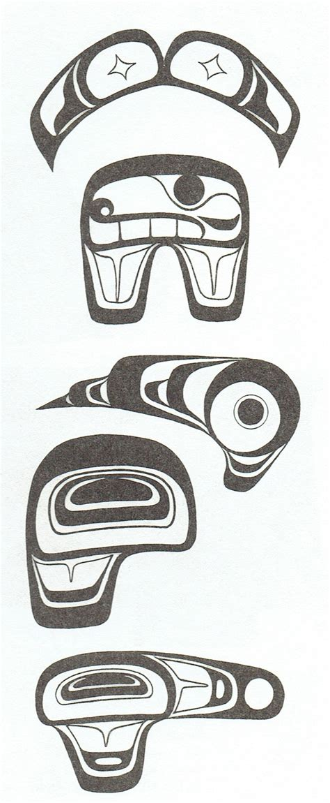 west coast native tattoo designs top 25 ideas about west coast design elements