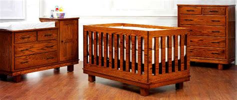Amish Baby Cribs by Amish Nursery Furniture Thenurseries