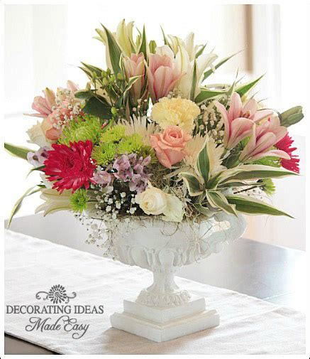 table flower arrangement ideas table centerpiece ideas learn to create beautiful