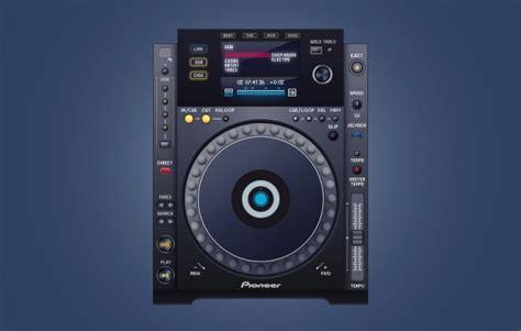 dj console design dj console interface layered psd free vector
