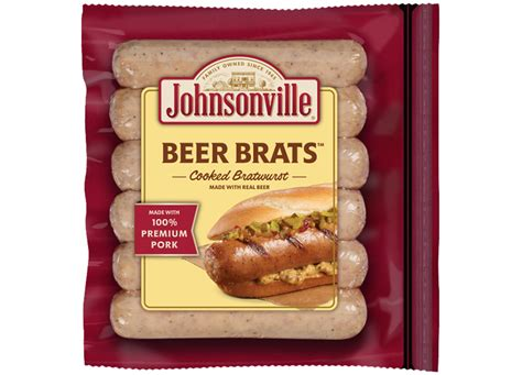 brats new orleans beer brats links johnsonville