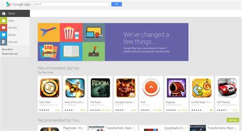 design google play droid tech com google play gets new design