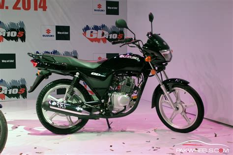 Pak Suzuki Motorcycles Prices Pak Suzuki Launches The Upgraded Suzuki Gd110s Pakwheels