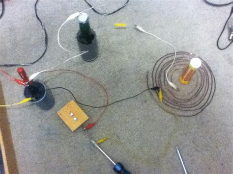 How To Make A Small Tesla Coil Mini Tesla Coil 1