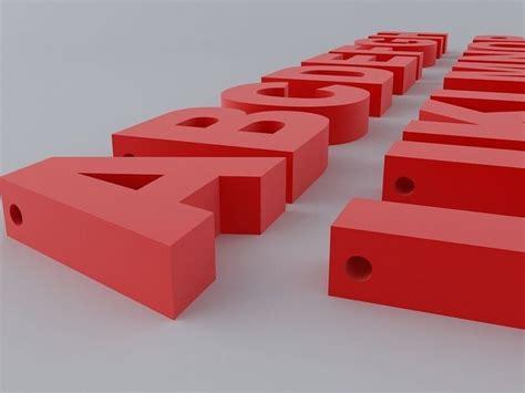free download cgtrader models letter 3d model formal letter template