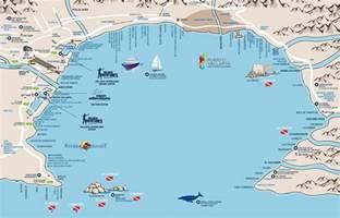 banderas map banderas bay bahia de banderas beaches on banderas bay