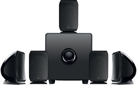 focal sib cub3 home theater speaker system black open