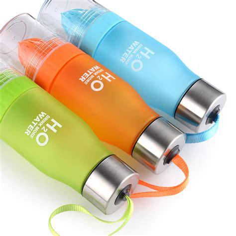 Botol Minum Infuser H2o 650ml Blue botol minum infuser h2o 650ml white jakartanotebook