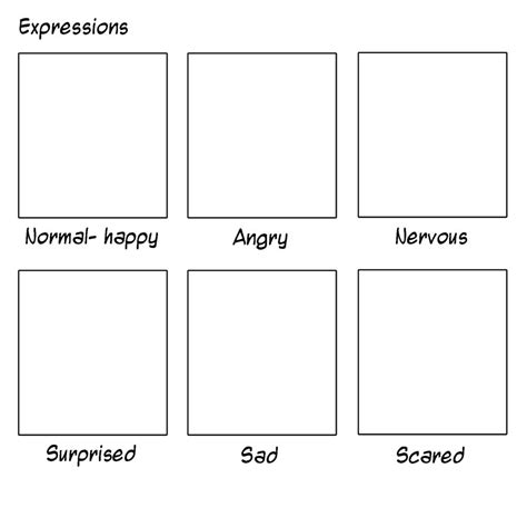 template expression expressions template by tombancroft on deviantart
