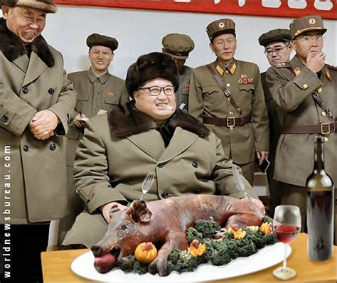 Jong Food jong un clarifies famine diet big news