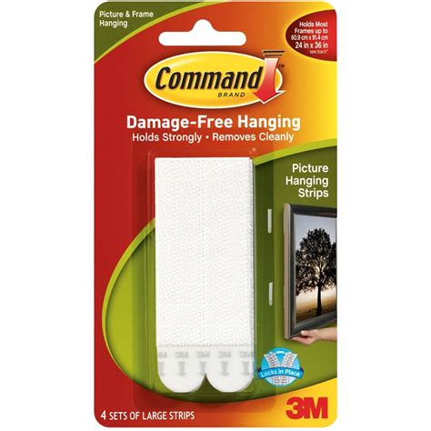 command strips products i love pinterest command 7 2kg white large picture hanging strips 4 pack