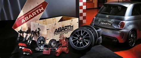 abarth cars uk record monza exhaust tuning kit