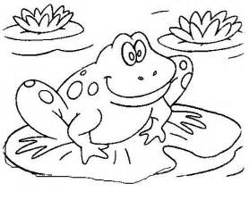 cute frog coloring books drawing kids
