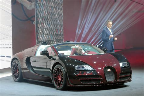first bugatti first and last bugatti veyron built share the stage in