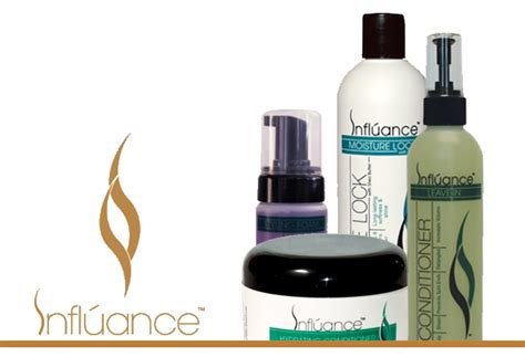 influancehaircare calendar hair care products