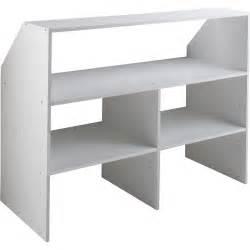 module sous combles spaceo dressing 118x91x50 cm blanc