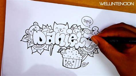 doodle with name maker como hacer tu nombre en doodle daniela