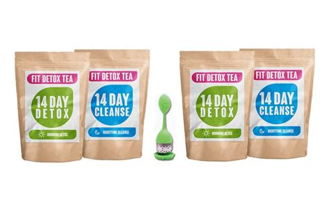 Perk 14 Day Detox Tea by Detox Tea Pack Groupon Goods