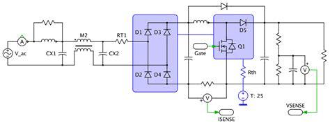 power factor correction rlc circuit single phase supply with power factor correction plexim