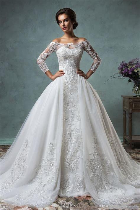Hochzeitskleid Preiswert by Hochzeitskleid Mit Abnehmbarem Rock Preiswertes Modestes