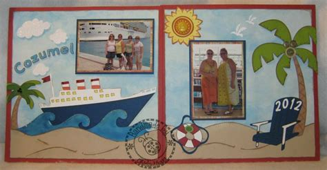 scrapbook layout ideas cruise 1000 images about cruise scrapbooking on pinterest