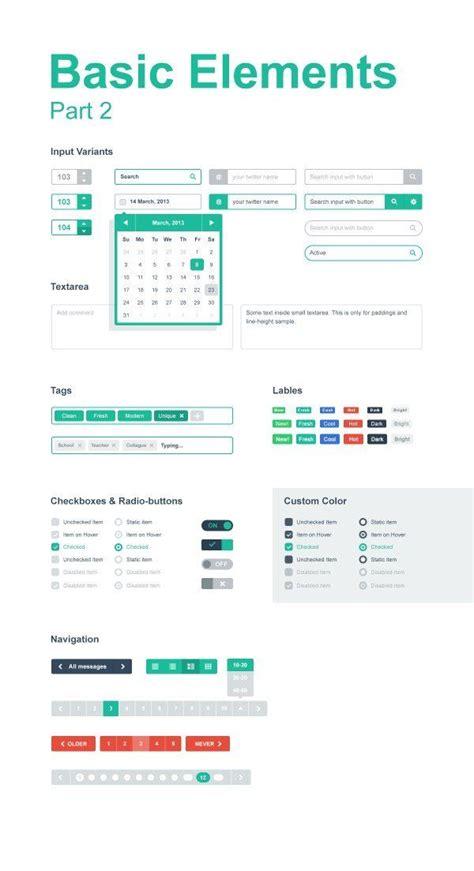 ui pattern filter ui filter interface app web design pinterest