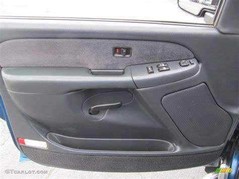 Chevy Interior Door Panels 2001 Chevrolet Silverado 1500 Z71 Extended Cab 4x4 Graphite Door Panel Photo 77715481