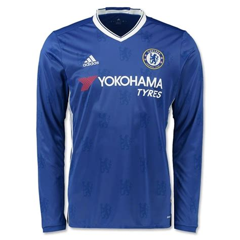Jersey New Chelsea Home adidas chelsea home 16 17 sleeve replica soccer
