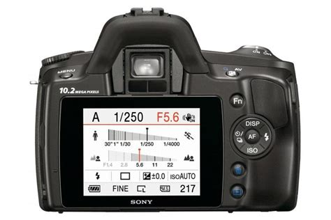 Kamera Digital Sony Dslr A230 sony alpha dslr a230 la fiche technique compl 232 te 01net