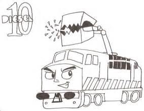 Diesel 10 Coloring Page diesel 10 coloring pages sketch coloring page