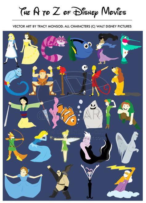 Disney Character Letter Picture A Z Disney Disney Fan 1351320 Fanpop