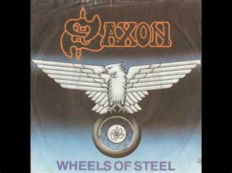 Kaos Fangkeh Saxon Wheels Of Steel saxon wheels of steel