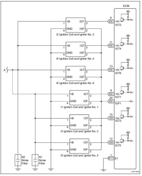 toyota ignition igniter wiring diagram wiring automotive