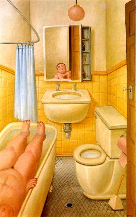 botero bagno artinvest2000 174 fernando botero stanza da bagno
