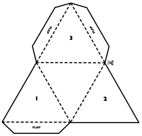 How To Make A 3d Triangular Pyramid Out Of Paper - http www6 svsu edu deh modelmathcurriculumdevelopment