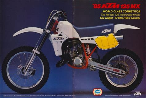 1985 Ktm 250 Parts The Best Looking Bikes In History Pulpmx