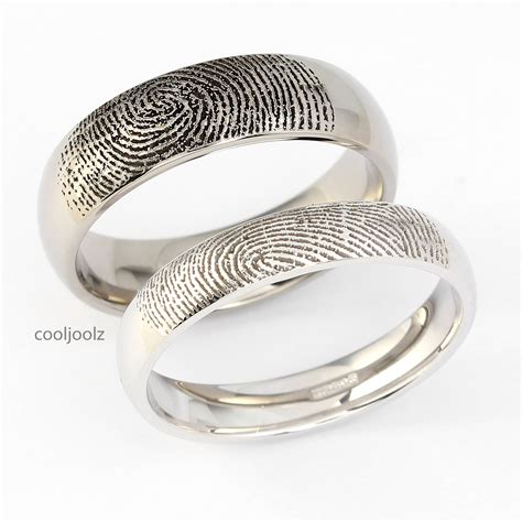 89 wedding ring fingerprint custom fingerprint