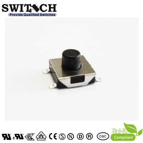 Tactile Button 43mm Push On ts2a 043c g8 4 4 3mm height low resistace tact switch with