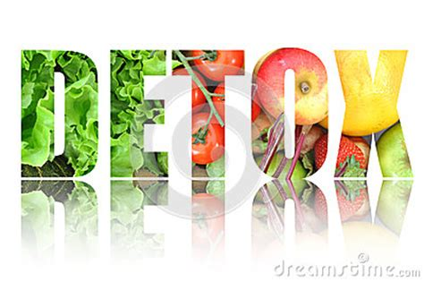 Fruits And Vegetables Only Detox by Detox Stock Photo Image 48737489