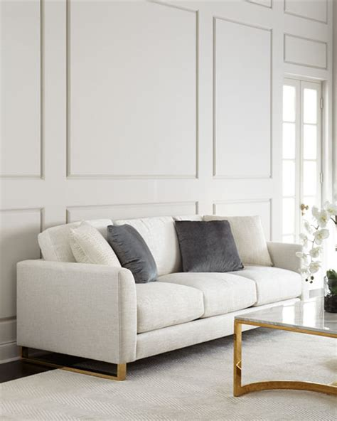 camille tufted settee old hickory tannery brussel blush tufted sofa