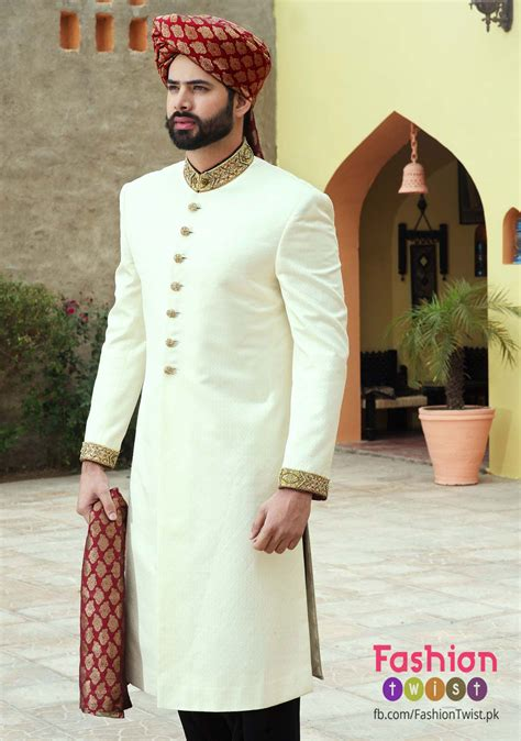 Groom By Design by Variety Of Sherwani In Amir Adnan S Collection For Grooms