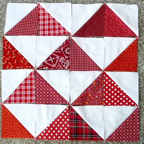 triangle with pattern blocks half square triangle quilt blocks flickr photo sharing