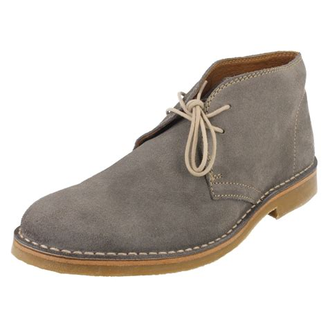 grey suede boots mens mens loake lace up grey suede ankle boots kalahari ebay