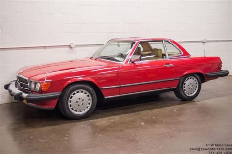 electric and cars manual 1987 mercedes benz sl class parking system 1987 mercedes benz sl class 560sl 77 011 miles signal red 2 owner serviced for sale