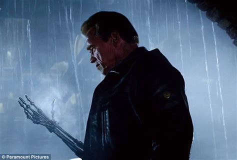 arnold schwarzenegger for terminator 3 at 55 terminator genisys official trailer debut resets the