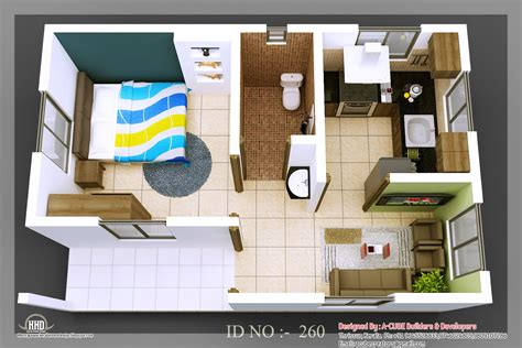 3d small house design 3d isometric views of small house plans kerala home design and floor plans