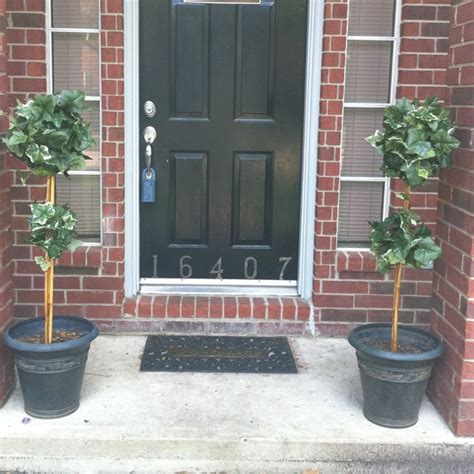 Topiaries For The Front Door Diy Projects Pinterest Front Door Topiary