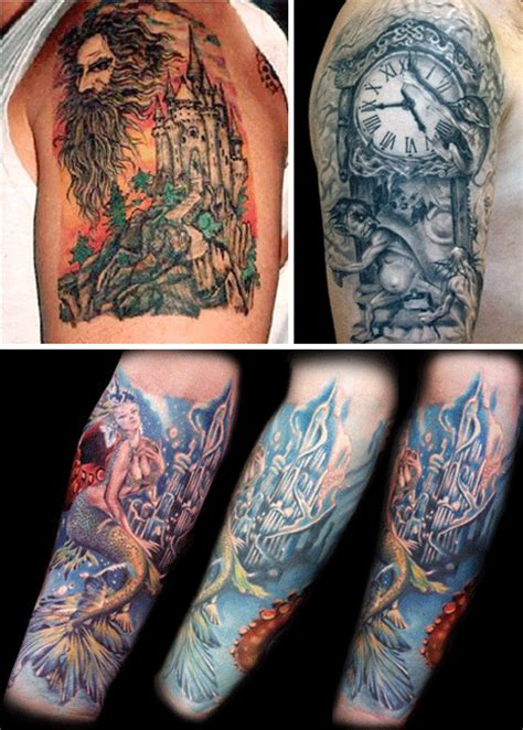 34 fantasy tattoos of the terrifying and fantastic urbanist