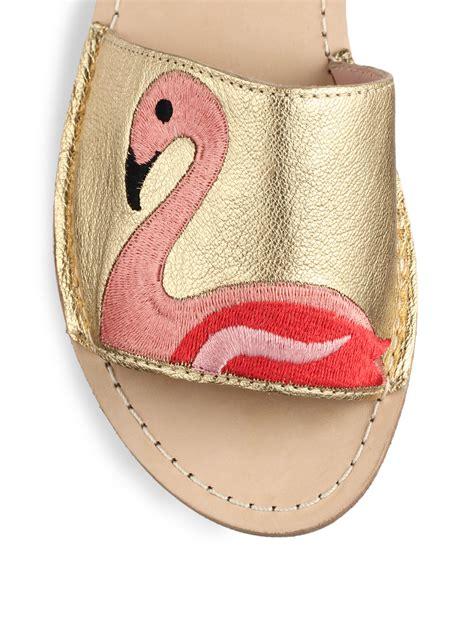 Kate Spade Sao Paulo Small Coal Handbag by Lyst Kate Spade New York Iggy Flamingo Embroidered